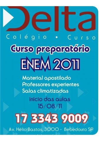 Curso preparatório para o ENEM 2011