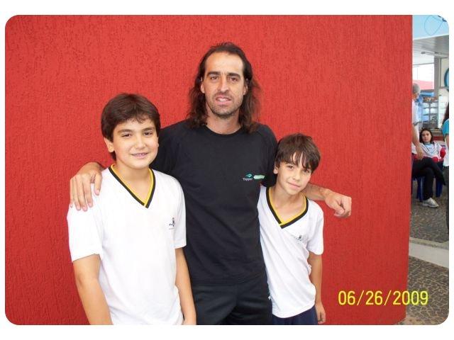 DELTA recebe os tenistas Fernando Meligeni e Adriano Ferreira